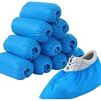 medicinadellavoro.com - 100 Copriscarpe Monouso - Copri scarpe in TNT Impermeabili per Casa, Interno, Esterno| Proteggi…