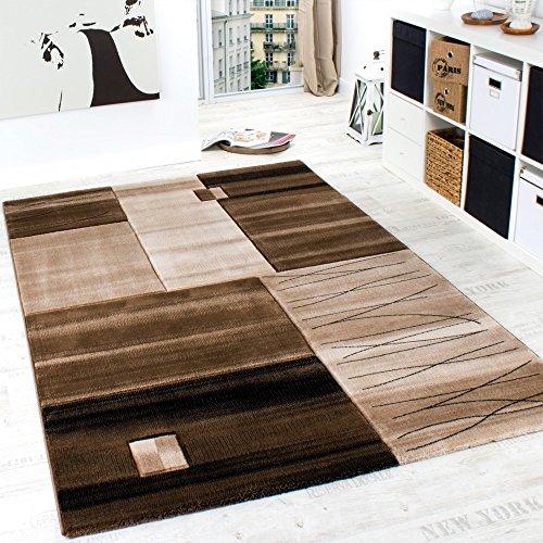 luxury-designer-rug-contour-cut-geometric-mottled-brown-beige-cream-size80x150-cm