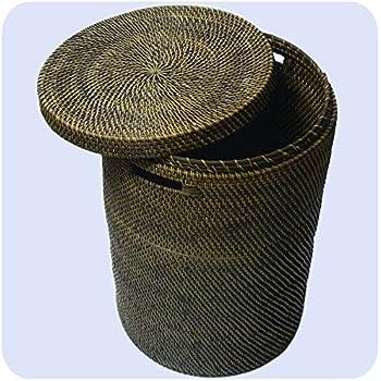 w schekorb w schebox korb seegras natur schwarz eckig home 60 x 42 x 30 cm k che. Black Bedroom Furniture Sets. Home Design Ideas