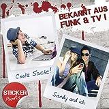 Tolino Shine 2 HD Skin SOMMERBLUMEN Sticker Handy Folie Aufkleber + Wallpaper, Schutzfolie Fuer Cover