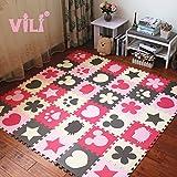 Directora de Jigsaw Kit dormitorio infantil esponja de espuma de empalme de alfombra alfombra domésticos arrastrándose.