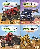 Nelson Mini-Bücher: Dreamworks Dinotrux 1-4: 24 Mini-Bücher im Display