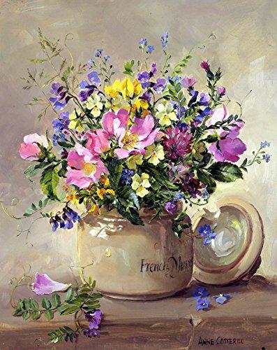 Sommer Wild Flowers von Anne Cotterill–Pack von 2Grußkarten