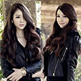 Ritzkart Silky and Soft Fashion Long Synthetic Hair Wig Full Lace (Dark Brown)