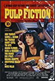 'Pulp Fiction' Movie Poster (1994, Quentin Tarantino, John Travolta, Samuel Jackson L., Uma Thurman), Carta, A2