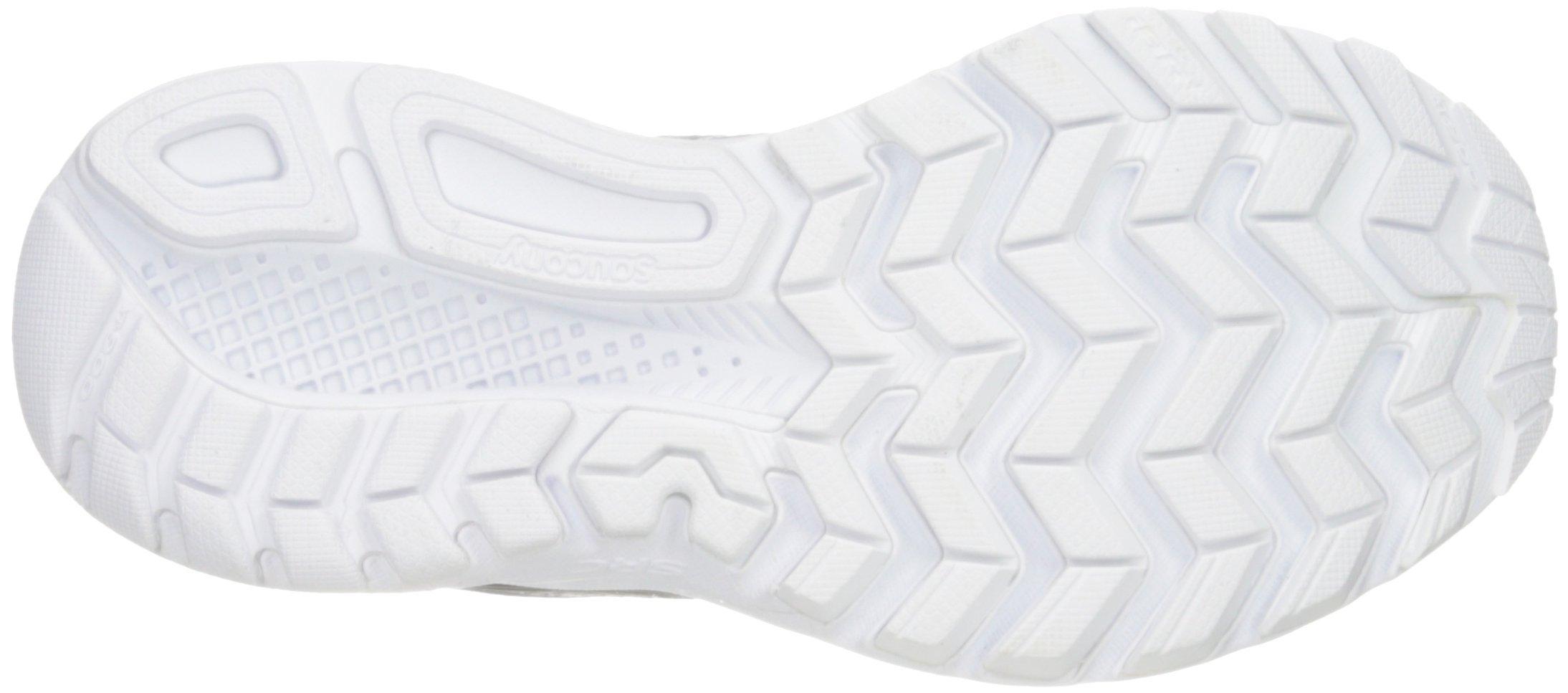 61KudIKZYML - Saucony Women's Ride 9 Lr Running Shoe, Grey/Black, 5 M US