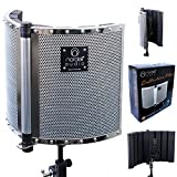 Best Vocal Recording Microphones - Premium Folding Soundproofing Vocal Booth / Reflection Filter Review