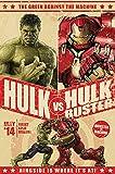 Poster Poster Motif: Avengers, The Age of Ultron-Hulk vs Hulk Buster Bunt