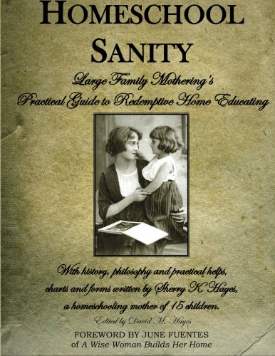 Homeschool Sanity A Practical Guide To Redemptive Home Educating