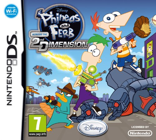 Phineas and Ferb: Across the 2nd Dimension (Nintendo DS) [UK Import] (Nintendo Ds Phineas Und Ferb)