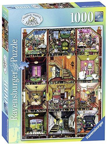 Ravensburger Italy 192939 - Puzzle Colin Thompson, la Casa Bizzarra, 1000 Pezzi, Multicolore