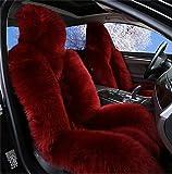 GAOFEI Luxus australische Schaffell Autositzkissen Abdeckung Auto Sitzbezug
