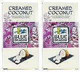 (2 Pack) - Blue Dragon - Creamed Coconut Block | 200g | 2 PACK BUNDLE