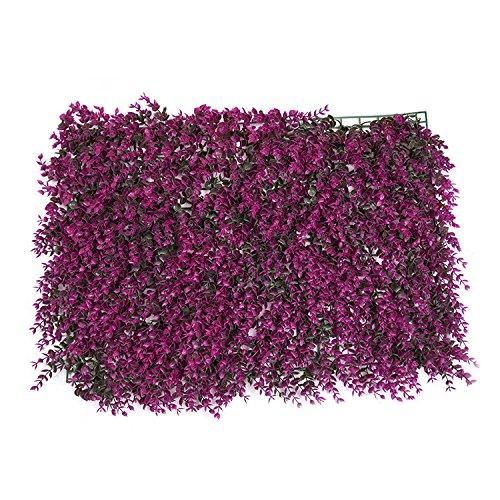 künstliche Hecke Panel Pflanze Faux grün Privatsphäre Schirme Kunststoff Hecke Hintergrund grün Matte gefälschte Zaun Gitter Wand Dekor von yunhigh