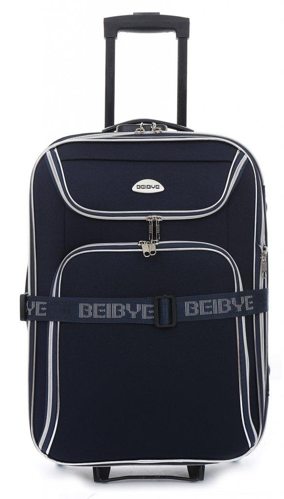 Trolley-Koffer-Set-4-tlg-85-75-65-55cm-Dehnfalte-fr-XXL-Volumen-schwarz-rot-od-blau