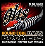 Ghs 3045 rC 6 mL/dYB round core boomers bass (6-string light medium)