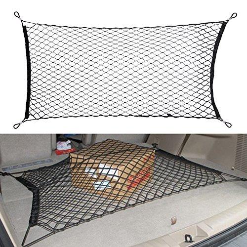 Aufrechte Gepäck (everpert Trunk Cargo Gepäck Netz Halter für Audi Q3Q5Q7A3A4A5A6A7A8)