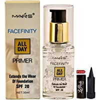 Mars Facefinity All Day Primer With Free Laperla Kajal