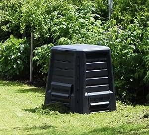 dominik komposter 340l anthrazit garten