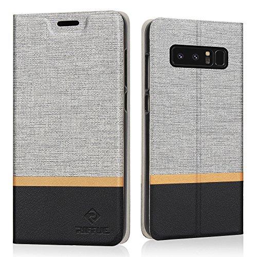 RIFFUE Coque Galaxy Note 8, Housse Etui...