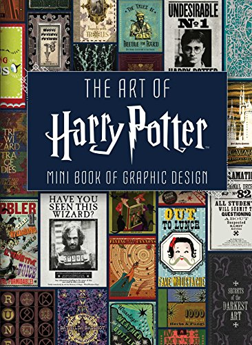 Mini Art Of Harry Potter. Graphic Design Mini Book