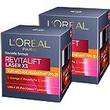 L 'Oréal Paris Revitalift Láser x3cuidado día Anti-Age Régénérant FPS 2050ml–juego de 2