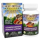Fungi Perfecti, Host Defense Mushrooms, MyCommunity, Comprehensive Immune Support, 30 Veggie Caps from Fungi Perfecti