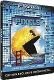 Pixels - Blu-ray Steelbook + Combo blu-ray + DVD [Combo Blu-ray + DVD + Copie digitale - Édition boîtier SteelBook]