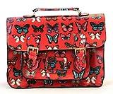 bolsos de las señoras, diseño de la mariposa taleguilla, bolso de hule, aumentaron