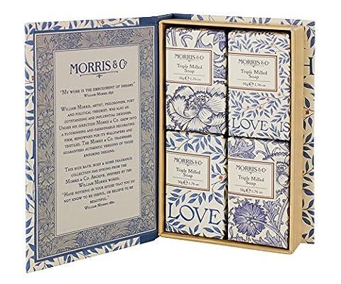 Morris & Co Love is Enough Guest Soaps, 50 g,