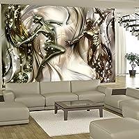 murando - Fototapete 150x105 cm - Vlies Tapete - Moderne Wanddeko - Design Tapete - Wandtapete - Wand Dekoration - Paar Mann Frau Abstrakt h-C-0003-a-b