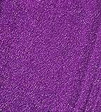 CRYSTAL KING 2,5 kg Dekosand Farbsand Lila Streudeko Sand Zum dekorieren Lila Streusand Streu-granulat 2500g 2,5kg Granulat Tischedeko
