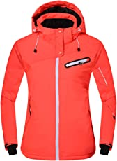 Phibee Damen Wasserdichte Outdoor Snowboard Breathable Skijacke