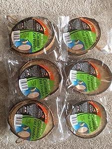 Wild Bird Feeder Half Coconuts - Pack of 6 from koko
