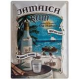 Blechschild Jamaica Rum 30x40 cm