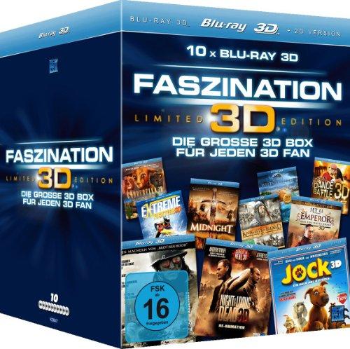 Faszination 3D - Die große 3D Box für jeden 3D Fan (10 Discs in einer limitierten Gesamt-Edition) [Blu-ray 3D]