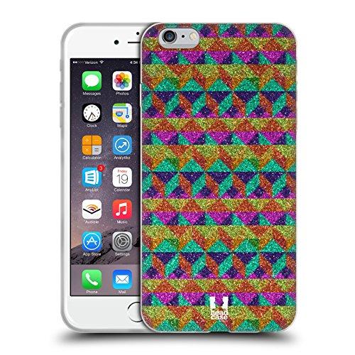 Head Case Designs Gris Camouflage Géométrique Étui Coque en Gel molle pour Apple iPhone 5 / 5s / SE Cubisme