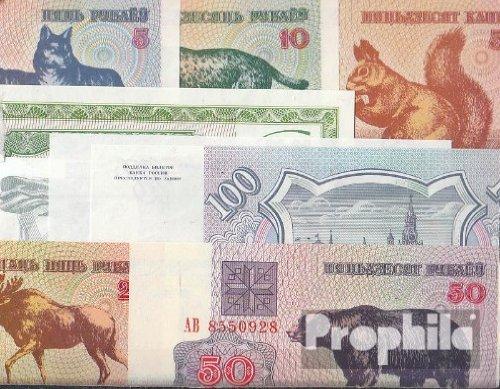 Osteuropa 10 verschiedene Banknoten Osteuropa (Banknoten für Sammler)