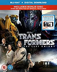 Transformers: The Last Knight (Blu-RayTM + Bonus Disc + Digital Download) [2017] [Region A & B & C]