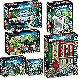 Playmobil Ghostbusters (Cazafantasmas) pack completo de las 6...