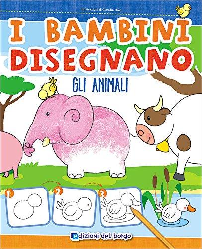 I bambini disegnano gli animali. Imparo a disegnare