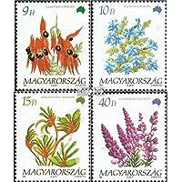 Prophila Collection Hungría 4220-4223 (Completa.edición.) 1992 Flores (Sellos para los coleccionistas) Planta