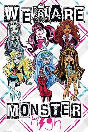 r High - We Are Monsters - 61 x 91.5 cm | PostersDE ()