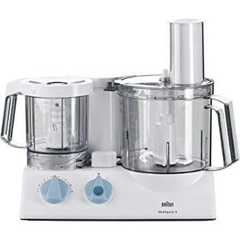 Braun K700 Multiquick 5 Food Processor, Bianco