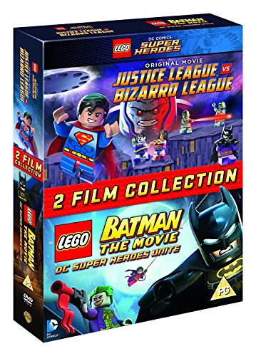 LEGO: Justice League Vs Bizarro / LEGO Batman: The Movie  [DVD] [2015]