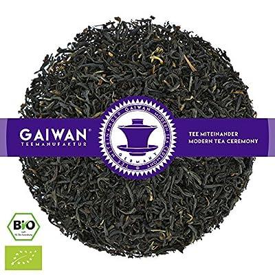 """N° 1365: Thé noir bio""""Assam Sewpur TGFOP"""" - feuilles de thé issu de l'agriculture biologique - GAIWAN GERMANY - thé noir de Inde"""
