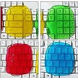 Universal Weich Kristall Gel Staub-Reiniger für Tastaturen (Farbe: Zufall versendet), Wiederverwendbare Dust Remover Cleaner / Tastaturreiniger für Desktops / Laptops / Computer (4 Stück)