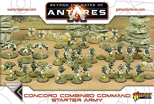 Beyond the Gates of Antares, Concord Combined Command Starter-Armee