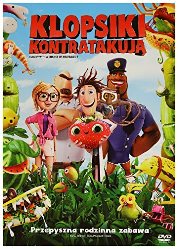 Cloudy with a Chance of Meatballs 2 [DVD] [Region 2] (English audio) by Bill Hader