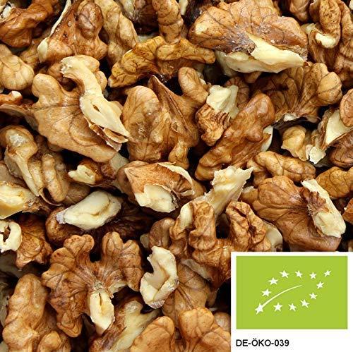 1kg Bio Walnusskern-Bruch aus 100% naturbelassenen und unbehandelten Bio Walnüssen ohne Schale